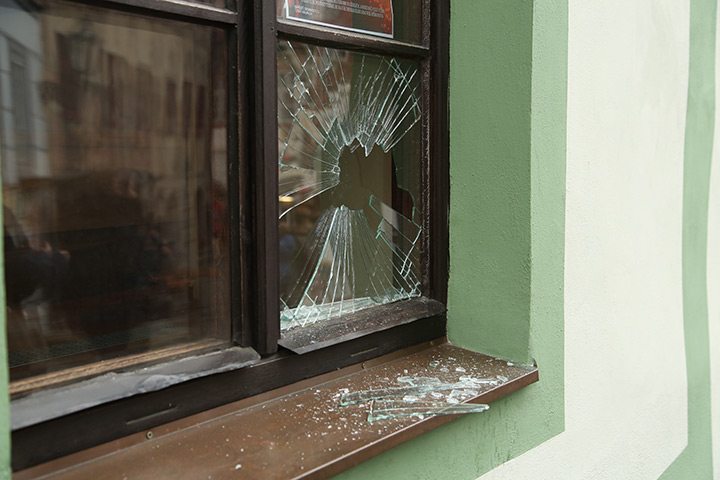 A2B Glass are able to board up broken windows while they are being repaired in Dagenham.
